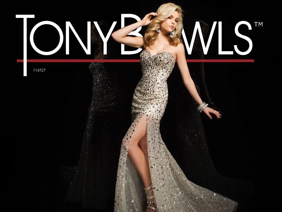 Used Tony Bowls Dresses