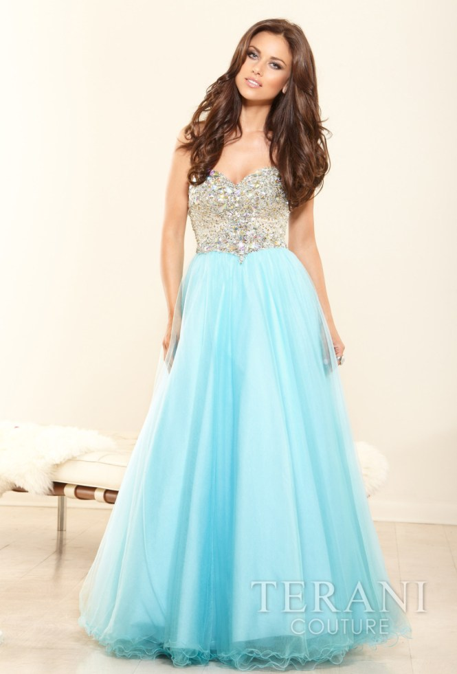 Try Something from Terani Collection..Feel like a princess this prom season.