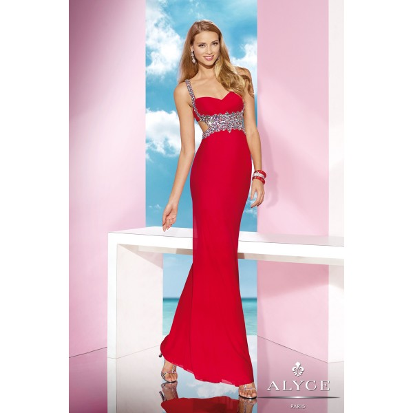 Hot Red Alyce Dress