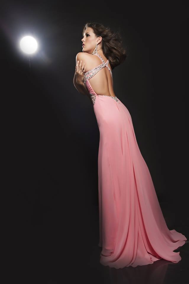 Stunning open back dress by Jasz Couture